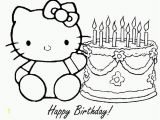 Hello Kitty Cake Coloring Pages Free Hello Kitty Coloring Pages Happy Birthday Download