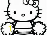 Hello Kitty Cheerleader Coloring Pages Hello Kitty Coloring