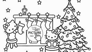 Hello Kitty Christmas Coloring Pages Free Christmas Hello Kitty Coloring Pages for Kids Printable Free