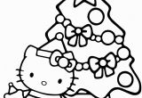 Hello Kitty Christmas Coloring Pages Free Hello Kitty Christmas Coloring Page