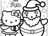 Hello Kitty Christmas Coloring Pages to Print Happy Holidays Hello Kitty Coloring Page