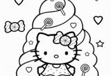 Hello Kitty Coloring In Pages Hello Kitty Coloring Pages Candy with Images