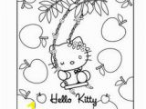 Hello Kitty Coloring Pages Birthday 227 Best Coloring Hello Kitty Images