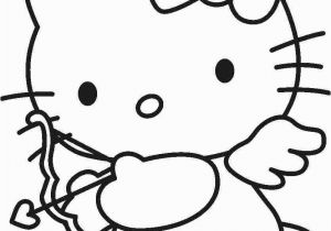 Hello Kitty Coloring Pages Free Online Hello Kitty Cupid with Images