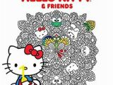 Hello Kitty Coloring Pages Games App Hello Kitty & Friends Coloring Book Volume 1 Amazon