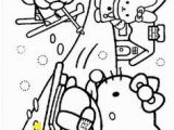 Hello Kitty Coloring Pages Preschool 281 Best Coloring Hello Kitty Images