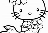 Hello Kitty Coloring Pages to Print Out for Free Hello Kitty Coloring Pages Mermaid with Images
