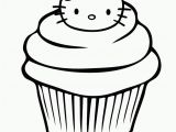 Hello Kitty Cupcake Coloring Pages Free Hello Kitty Coloring Pages Happy Birthday Download