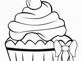 Hello Kitty Cupcake Coloring Pages Free Printable Cupcake Coloring Pages for Kids