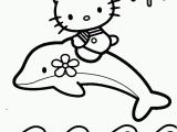 Hello Kitty Dolphin Coloring Pages Dolphin Coloring Book Coloring Home