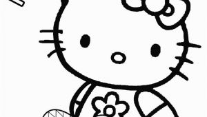 Hello Kitty Easter Coloring Pages to Print Printable Easter Egg Coloring Pages for Kids