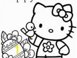 Hello Kitty Easter Egg Coloring Pages 20 Best Hello Kitty Spring Easter Images On Pinterest