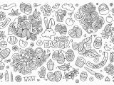 Hello Kitty Easter Egg Coloring Pages 23 Line Easter Coloring Pages Gallery