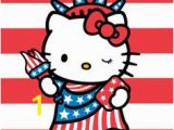 Hello Kitty Fourth Of July Coloring Pages Kitty Usa