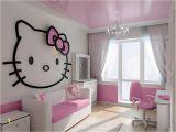 Hello Kitty Giant Wall Mural Bedroom Design Hello Kitty Bedroom themes Design 94