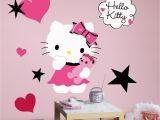 Hello Kitty Giant Wall Mural Popular Characters Hello Kitty Couture Giant Wall Decal