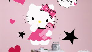 Hello Kitty Giant Wall Mural Popular Characters Hello Kitty Couture Giant Wall Decal