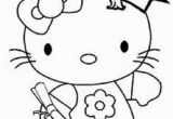 Hello Kitty Graduation Coloring Pages Hello Kitty Graduation Coloring Pages with Images