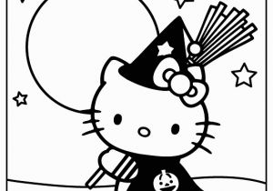 Hello Kitty Gymnastics Coloring Pages Haloween Hello Kitty Color Page Free