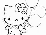 Hello Kitty Happy Birthday Coloring Pages Pin by Danielle Koornstra On Verjaardag Kleurplaten