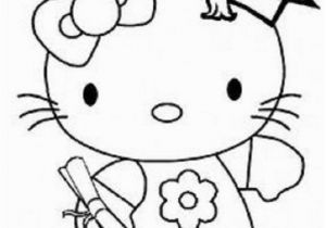 Hello Kitty Heart Coloring Pages Hello Kitty Graduation Coloring Pages