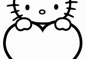 Hello Kitty Heart Coloring Pages Valentinstag Malvorlagen Zum Valentinstag with Images