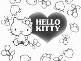 Hello Kitty I Love You Coloring Pages Free Coloring Pages Printable to Color Kids