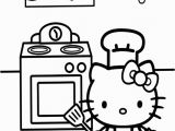 Hello Kitty Kitchen Coloring Pages 378 Best Hello Kitty Color Pages Images