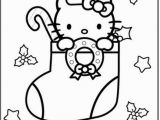 Hello Kitty Little Coloring Pages Free Christmas Pictures to Color