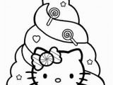 Hello Kitty Mermaid Coloring Page 7 Free Christmas Coloring Pages