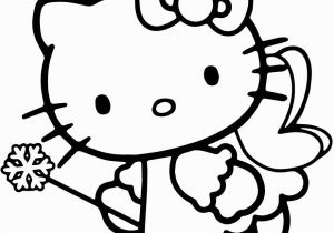 Hello Kitty Mermaid Coloring Pages Free Print Hello Kitty Fairy Coloring Pages with Images