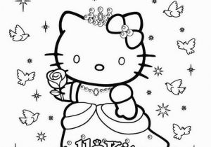 Hello Kitty Mermaid Coloring Pages Free Print Hellokittycoloringpage