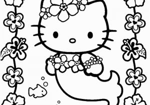 Hello Kitty Mermaid Coloring Pages Free Print Mermaid Coloring Pages for Adults Coloring Home