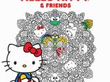 Hello Kitty Mini Coloring Pages Hello Kitty & Friends Coloring Book Volume 1 Amazon