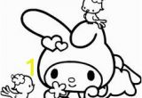 Hello Kitty Music Coloring Pages 11 Best My Melody Images