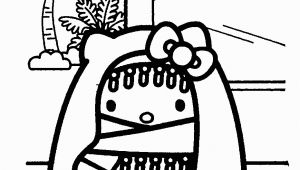 Hello Kitty Nerd Coloring Pages Hello Kitty Coloring Pages
