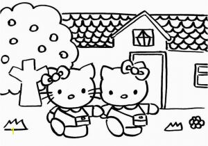 Hello Kitty Pictures Coloring Pages 10 Best Hello Kitty Ausmalbilder