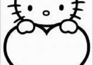 Hello Kitty Pictures Coloring Pages Hello Kitty Coloring Pages 8