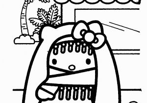 Hello Kitty Pictures Coloring Pages Hello Kitty Coloring Pages