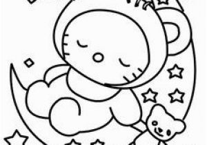 Hello Kitty Sleeping Coloring Pages 143 Best Coloring Pages Images