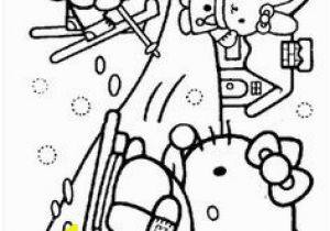 Hello Kitty Sleeping Coloring Pages 281 Best Coloring Hello Kitty Images