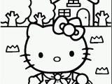 Hello Kitty Spring Coloring Pages Free Printable Hello Kitty Coloring Pages for Kids