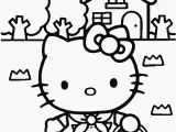 Hello Kitty Spring Coloring Pages Hello Kitty Coloring Pages