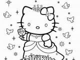 Hello Kitty Spring Coloring Pages Hellokittycoloringpage