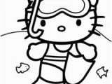 Hello Kitty Swimming Coloring Pages 19 Best Free Printable Hello Kitty Coloring Pages Images
