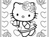 Hello Kitty Valentine Coloring Pages to Print Hello Kitty Valentines Day & Free Hello Kitty Valentines