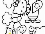 Hello Kitty Violin Coloring Pages 20 Best Hello Kitty Images