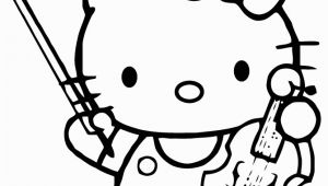 Hello Kitty Violin Coloring Pages 281 Best Coloring Hello Kitty Images