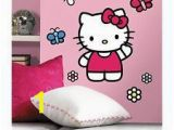 Hello Kitty Wall Murals World Of Hello Kitty Wall Stickers 15 Decals Sanrio Mural Room Decor