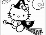Hello Kitty Witch Coloring Pages Hello Kitty Go to Play Halloween Coloring Page Free